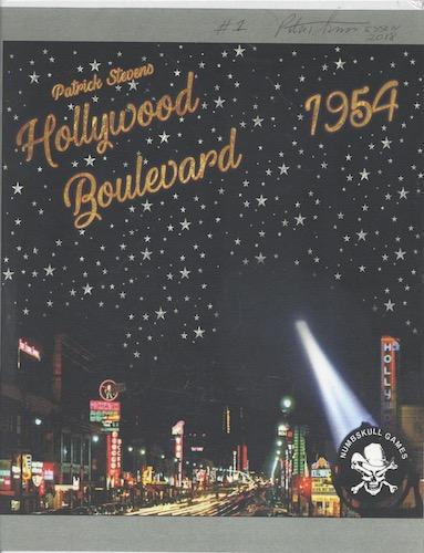 Hollywood Boulevard 1954