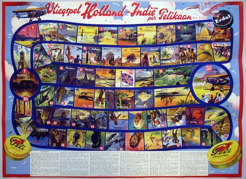 Vliegspel Holland-Indië per Pelikaan