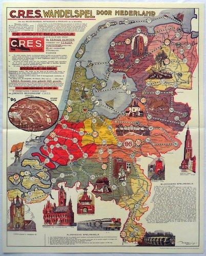 C.R.E.S. Wandelspel door Nederland