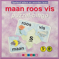 Maan Roos Vis: Puzzel-bingo