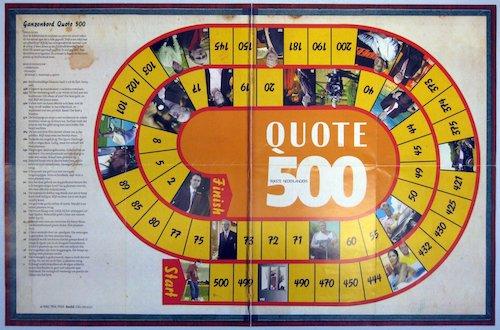 Ganzenbord Quote 500