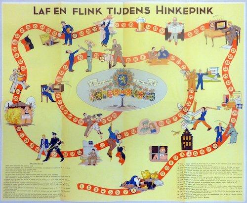 Laf en Flink tijdens Hinkepink