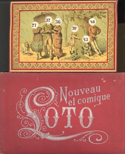 Nouveau et Comique Loto (Alleraardigst Karikaturen-Kienspel)