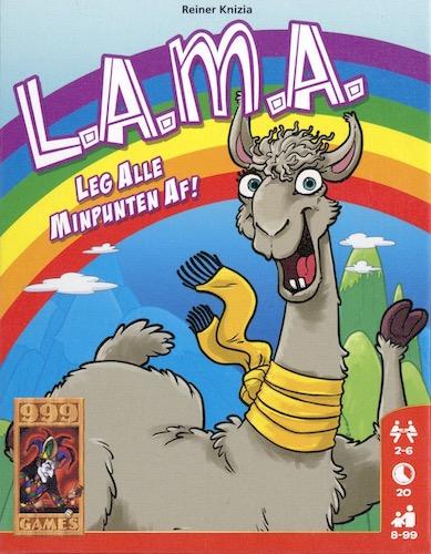L.A.M.A: Leg Alle Minpunten Af!