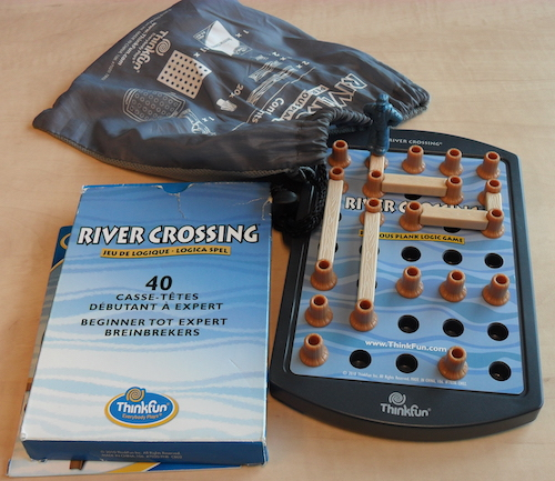 River Crossing: Perilous Plank Logic Game