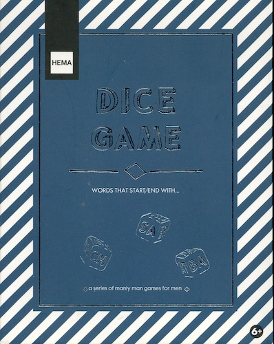 Dice Game: Words that Start/end with...