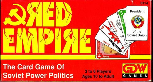 Red Empire: The Card Game of Soviet Power Politics