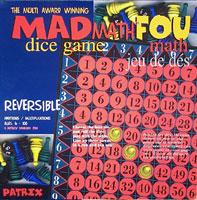 MAD Math dice game: Fou math jeu de dés
