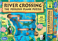 River Crossing: the Perilous Plank Puzzle