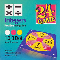 24 Game Integers Positive/Negative