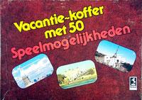 Vacantie-koffer met 50 Speelmogelijkheden