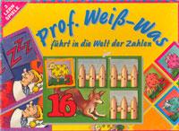 Prof. Weiß-Was führt in die Welt der Zahlen