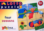 Lotto puzzle Four seasons