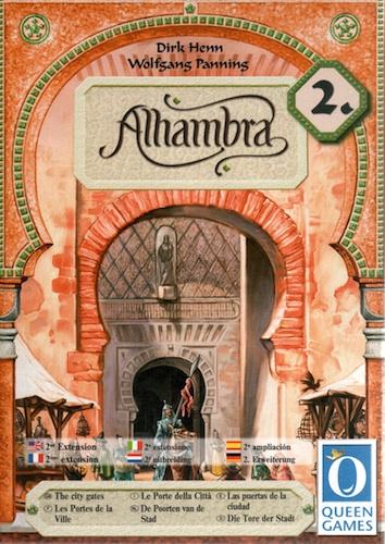 Alhambra - Uitbreiding 2: De Poorten van de Stad