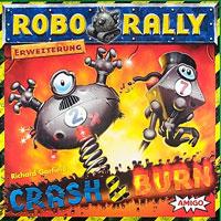 RoboRally: Erweiterung - Crash & Burn