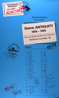 Game. Antiquity 1050 - 1620
