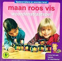 Maan Roos Vis: Woordenstraatspel