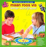Maan Roos Vis: Letter-Schrijfspel