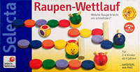 Raupen-Wettlauf (Rups-race)