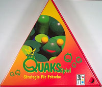Quaks Spiel - Strategie für Frösche