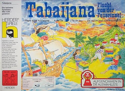 Tabaijana: Flucht von der Feuerinsel (De vlucht van het vuureiland)