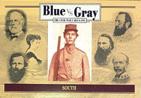 Blue vs Gray: The Civil War Card Game - CSA Deck (South)