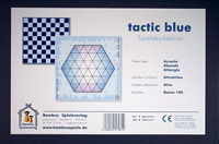 Tactic Blue Spielekollektion