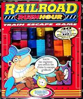 Railroad Rushhour Train Escape Game