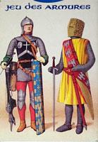 Jeu des Armures - armures et costumes de Charlemagne a Louis XIII