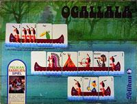 Ogallala: Lustiger Wettkampf von Indianer-Kanu zu Indianer-Kanu