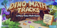 Dino Math Tracks (Place-Value Game)