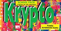 Krypto - Family Arithmetic Game (School Pack)