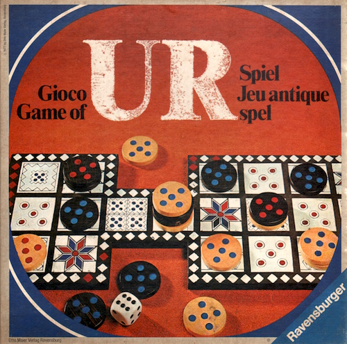 Ur (Spiel, Jeu antique, Spel, Game of, Gioco)