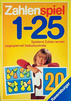 Zahlenspiel 1-25
