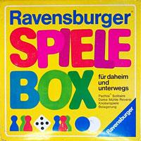 Spiele Box für daheim und unterwegs