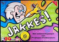 Jakkes!: Het wetenschapsspel van Professor Flubberstein