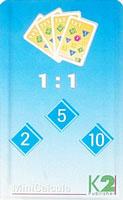 MiniCalcula 1 : 1 - deeltafels 2, 5 en 10