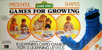 Games for Growing - Sesame Street - Preschool - Shapes