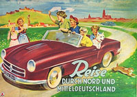 Reise durch Nord- und Mitteldeutschland