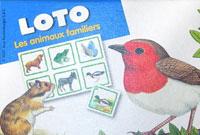 Loto: Les animaux familiers