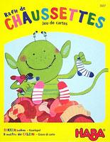 Rafle de Chaussettes - Jeu de cartes (Sokken zoeken - Kaartspel)