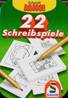 22 Schreibspiele