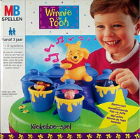 Winnie the Pooh: Kiekeboe-spel