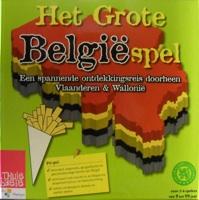 Het grote Belgiëspel: Een spannende Ontdekkingsreis doorheen Vlaanderen & Wallonië