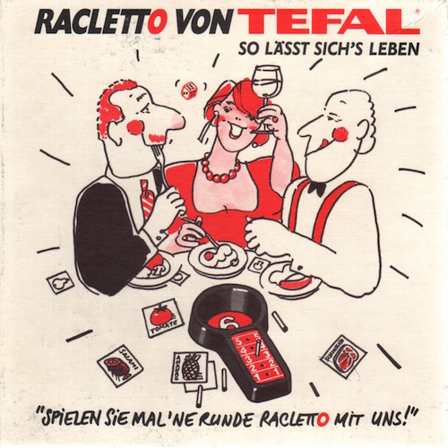 Racletto von Tefal